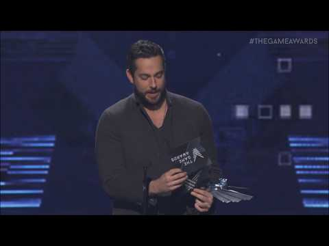 Zachary Levi Disses EA at The Game Awards