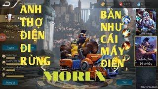 Liên quân mobile : Anh thợ điện[ Moren] đi rừng siêu bá đạo và mua test bộ trang phục !!!!