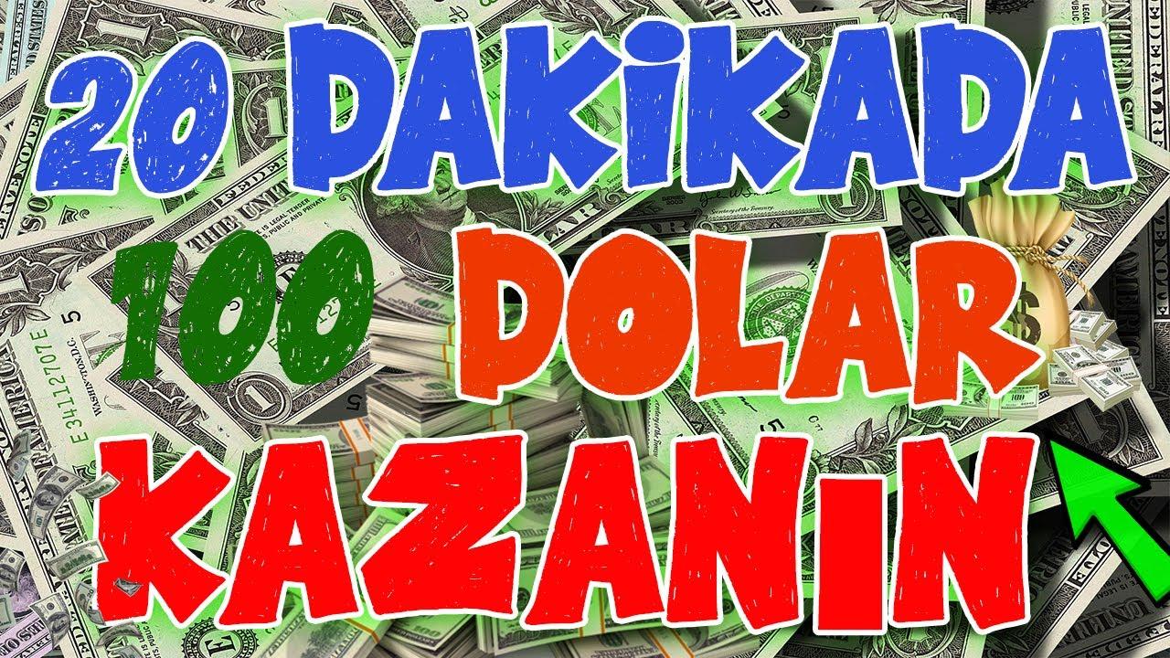 20 DAKİKADA 100 DOLAR KAZANDIRAN SİTE - NAKİT & STEAM & AMAZON ÖDEME SEÇENEKLERİ
