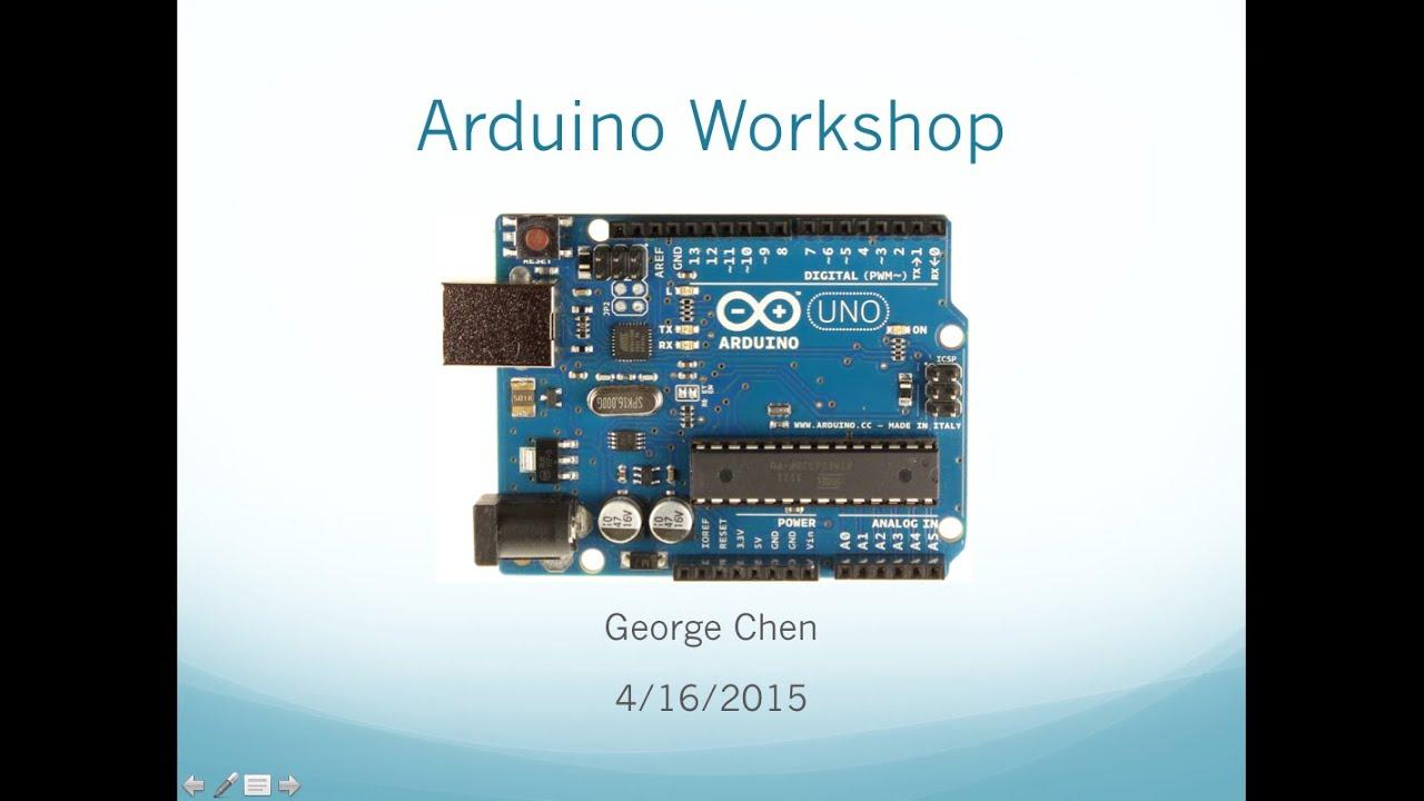 HMDN Arduino Workshop