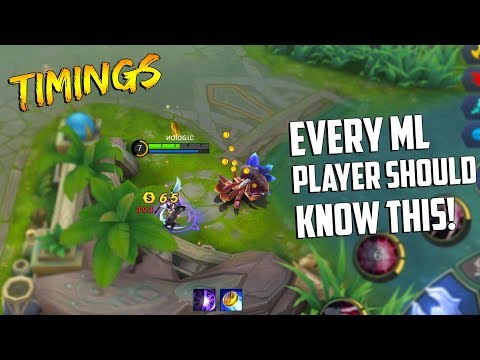 TIMINGS THAT EVERY ML PLAYER SHOULD KNOW!   Mobile Legends Tips & Tricks   MLBB