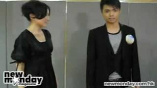 張敬軒 + 王菀之 摸身摸勢瑜伽班((爆笑經典) Hins Cheung Ivana Wong Funny Video