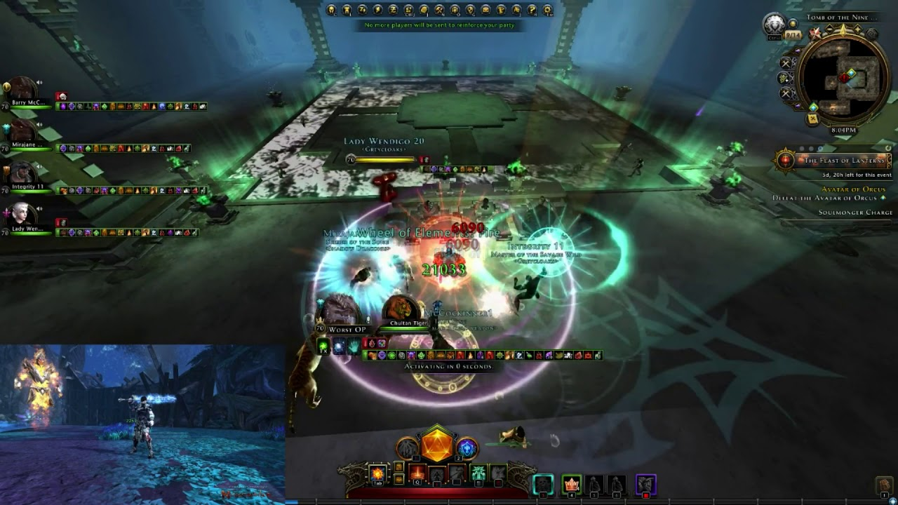 Neverwinter Best Class 2020 Neverwinter Module 15   One phase Orcus on all classes DPS PoV
