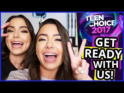 GET READY WITH MERRELL TWINS for Teen Choice Awards 2017!
