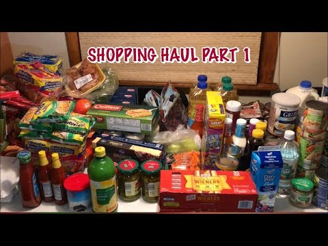 Shopping Haul Part 1| ALDI| JEWEL OSCO| FOOD FOR LESS|PETES SUPERMARKET|JUST TOSH