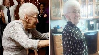 Download Video 85 Year Old Grandma Has Been Living Hunched Over For Decades, But Then She Starts Doing Yoga MP3 3GP MP4