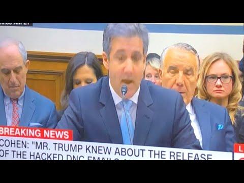 Michael Cohen: Donald Trump Racist Against Blacks