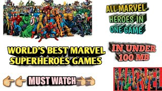 One of the best marvel avengers game for android 2018    best graphics   