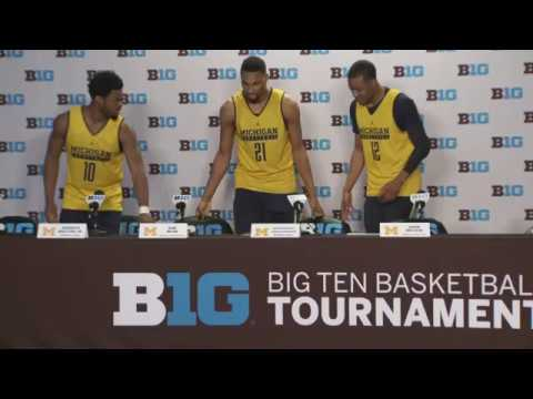 Michigan Illinois Press Conference