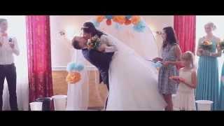 Красивый свадебный клип о любви и нежности Филипа и Анастасии...