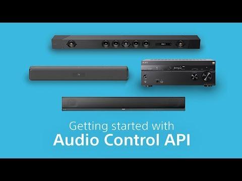 HTTP example - Audio Control API - Sony Developer World