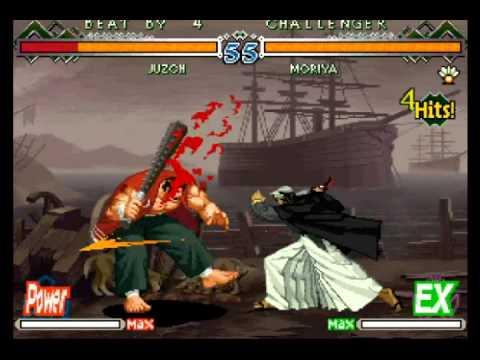 The Last Blade 2 (GGPO)  -  wwh8888 (Juzoh, Moryia) vs riara84 (Moriya, Kojiroh)  