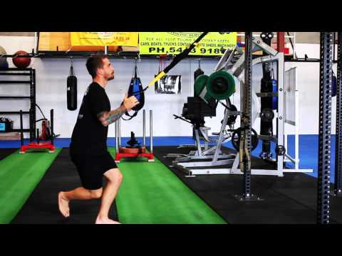 Technique Tuesday TRX Crossing Balance Lunge