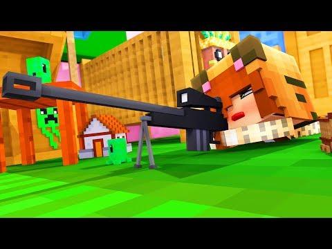 Minecraft Daycare - TINA THE SNIPER !? (Minecraft Roleplay)