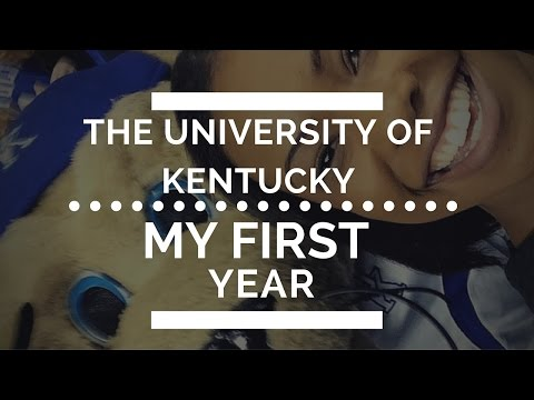My First Year at the University of Kentucky