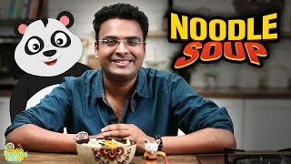 Noodle Soup Recipe - How To Make Stock &amp Chicken Noodle Soup - Khana Peena Aur Cinema