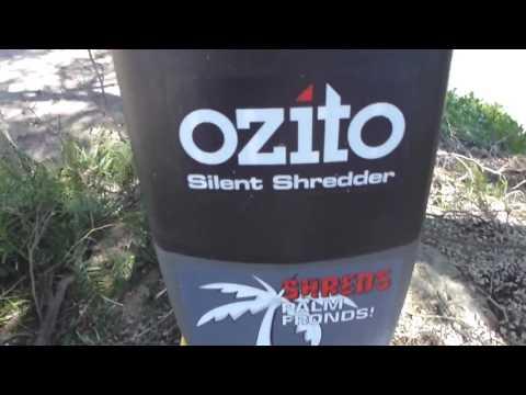 Ozito Electric Shredder/Chipper