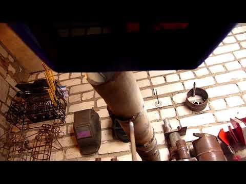 Как сваривать оцинкованные трубы (неповоротный шов)