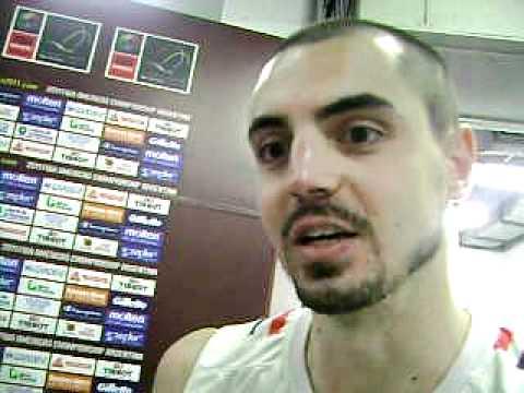 Preolímpico 2011 // Bruno Zanotti (selección de Paraguay) - Post Paraguay 86 -Panamá 89