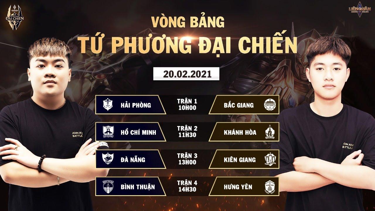 Kiên Giang đánh bại Đà Nẵng, độc chiếm ngôi đầu bảng | Vòng bảng Tứ Phương Đại Chiến