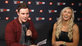 WWE 2K19 Interview with Charlotte Flair