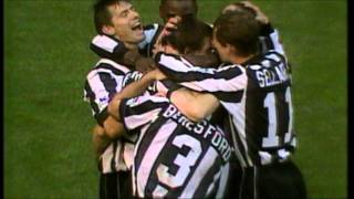 newcastle united - season 1993/94 - best goals, games and memorable moments!