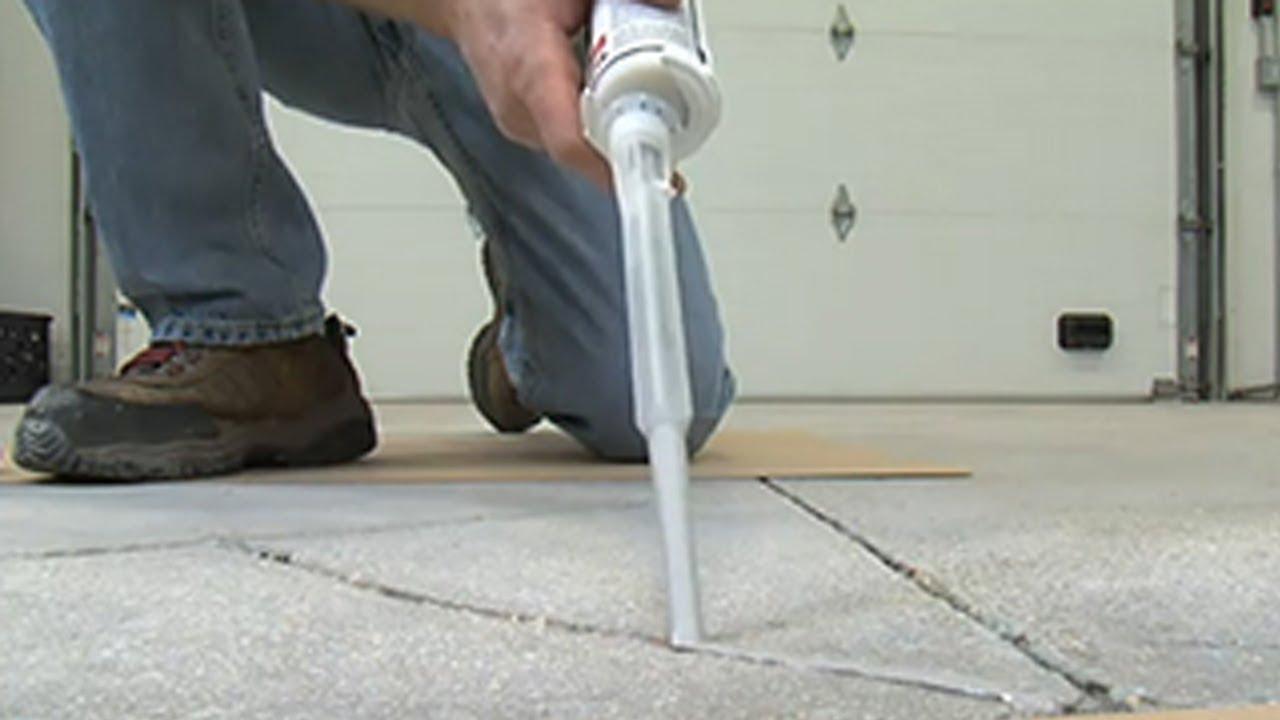 Rust Oleum Turbokrete Concrete Repair And Adhesive Youtube