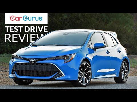 2019 Toyota Corolla Hatchback Cargurus Test Drive Review Youtube