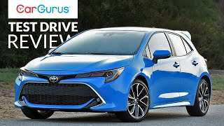 2019 Toyota Corolla Hatchback | CarGurus Test Drive Review