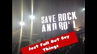 Fall Out Boy Concert Video ft The Pretty Reckless(live at newcastle metro radio arena)
