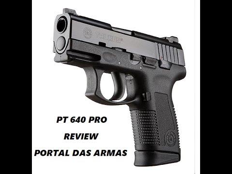 Download Review Pistola Taurus PT 640 PRO DS #CidadãoArmadoJá