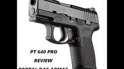 Review Pistola Taurus PT 640 PRO DS #CidadãoArmadoJá