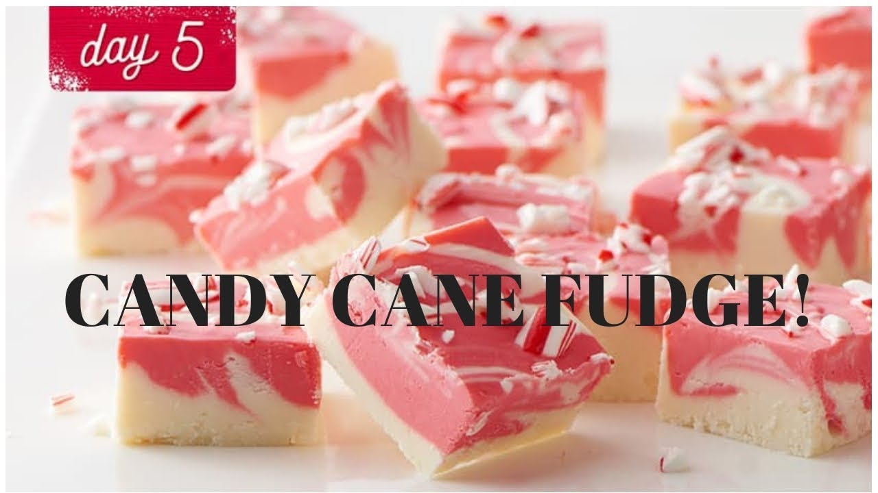 24 Days Of Cookies Vlogmas Day 5 Betty Crocker S Candy Cane Fudge