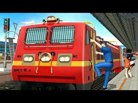 Indian Train Simulator - Train Driving Simulator Game-New Train Game 12352-KDLKATA RAJDHANI EXPRESS