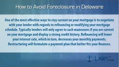 How to stop foreclosure in Delaware