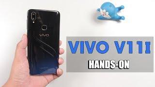 Trên tay Vivo V11i: Hiệu ứng mặt lưng bắt mắt nhưng cũng chỉ là ... nhựa !!!