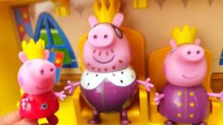 Свинка пеппа видео игра мультики