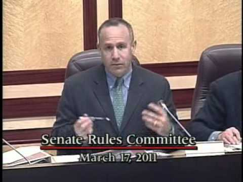 Senate Rules Committee 3/17/2011