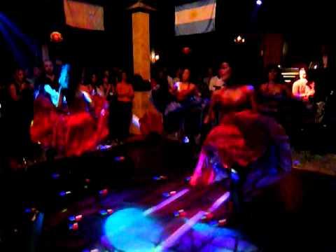 Milla Tenorio- Cabaret Show Dubai- Can Can