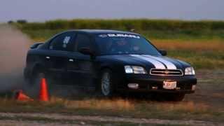 NRSCCA Rallycross 6/9/12 00 Subaru Legacy GT