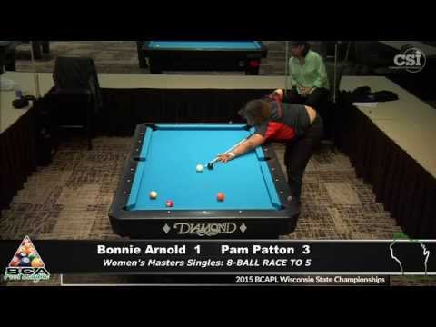 Bonnie Arnold vs Pam Patton Women's Master Singles