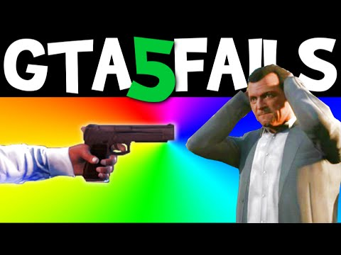 GTA 5 FAILS – EP. 6 (Funny moments...