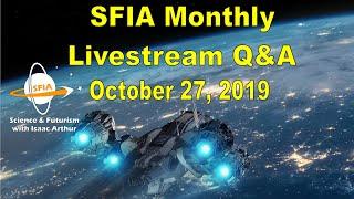 SFIA Monthly Livestream: October 27, 2019