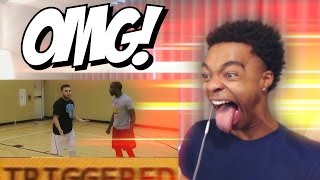 2 Twitch Streamers Fight After 1000$ Basketball Wager REACTION, RANT & THOUGHTS!