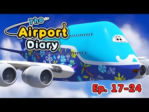 The Airport Diary  1724 episodes  Cartoons about planes  Best animation for kids