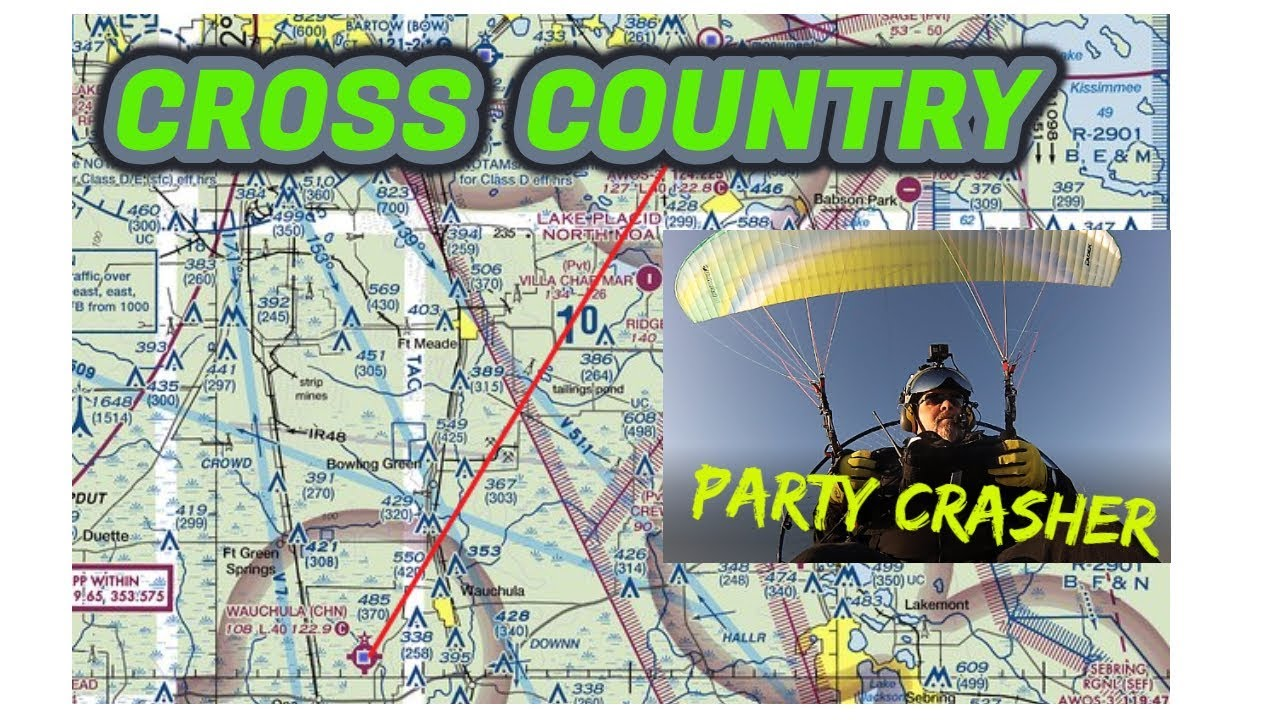 I wasn't Invited! Cross Country to Lake Wales 31 miles One Way Wings Over  Winter 2019
