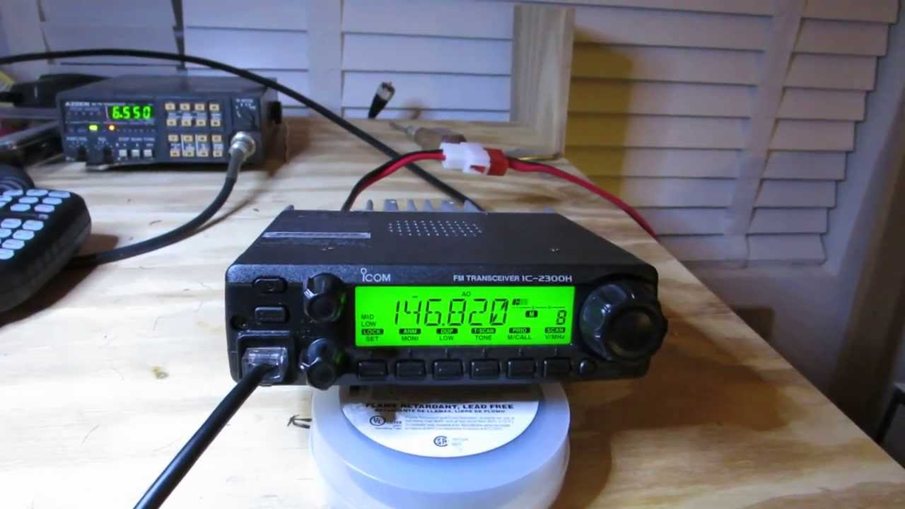 Icom 2300h Review Youtube Radio Wiring Diagram