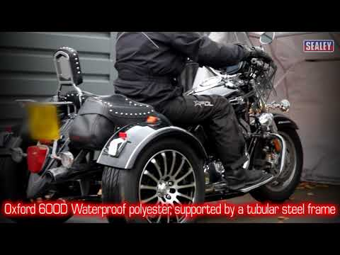 Sealey MS067 Motorcycle Storage Shelter
