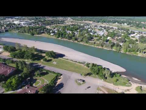 Downtown Red Bluff,Ca. From Above.