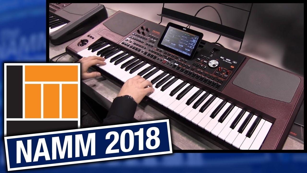 L&M @ NAMM 2018: Korg Pa1000 Professional Arranger Keyboard